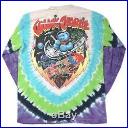 Vintage Grateful Dead Cosmic Charlie 1997 Long Sleeve T-shirt Jerry Garcia