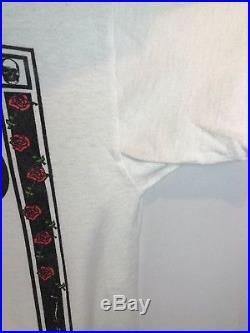Vintage Grateful Dead House Of Cards Tee Mens Large Anvil Poker 90s Shirt