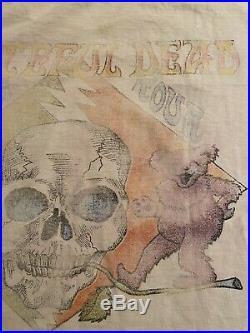 Vintage Grateful Dead It's Worth the Trip 1987 T Shirt Spring Tour 87 USA