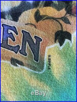 Vintage Grateful Dead Keep It Green Liquid Blue 1998 Tie Dye Graphic shirt XL