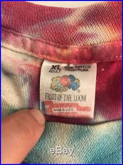 Vintage Grateful Dead Las Vegas 1992 T-shirt XL Extra Large Tee T Shirt Rare Vtg