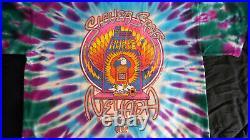 Vintage Grateful Dead Las Vegas. 1992 Tye Die T-Shirt XL EX Condition