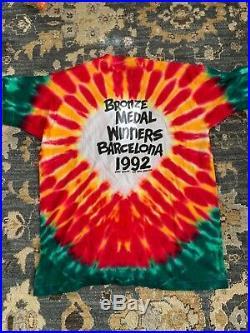 Vintage Grateful Dead Lithuania Basketball 1992 Shirt T Shirt XL