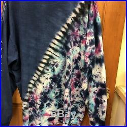 Vintage Grateful Dead NYE Tie Dye Long Sleeve T Shirt