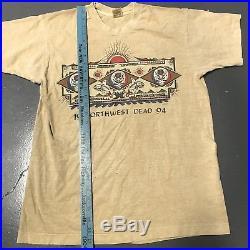 Vintage Grateful Dead Northwest 1994 T Shirt Vtg USA Large Single Stitch