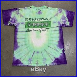 Vintage Grateful Dead Rainforest In Our Lifetime Tribute Album Rare T Shirt Sz L