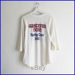 Vintage Grateful Dead San Francisco tour t-shirt sunset maryam nassir zadeh M