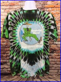 Vintage Grateful Dead Shakedown Street Tee Shirt Size XL Tulex Tie Dye (J5)