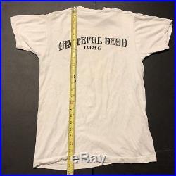 Vintage Grateful Dead Shirt 1986 Tour Music Band Concert Tour 80's Jerry Garcia