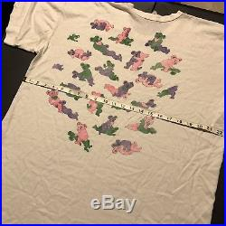 Vintage Grateful Dead Shirt 80s 90s Garcia Trippy Tie Dye Hippy RARE Sex Naughty