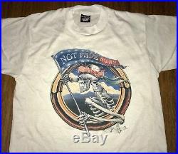 Vintage Grateful Dead Shirt Jerry Garcia Stanley Mouse NFA 1985 Garcia