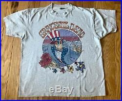 Vintage Grateful Dead Shirt L Traffic Summer Tour 1994 Jerry Garcia Band