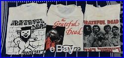 Vintage Grateful Dead Shirt Lot Hebrew Israel 80s Bear Skull Allah