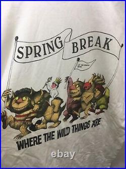 Vintage Grateful Dead Shirt SPRING BREAK L/XL LOT RARE NWOT