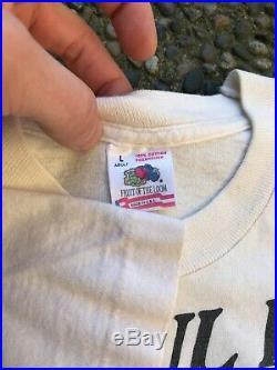 Vintage Grateful Dead Shirt Size L 90s VTG Tour Rare Single Stitch Concert Tee