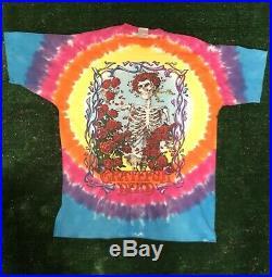 Vintage Grateful Dead Shirt Vintage tshirt 1995 Rainbow Tie Dye