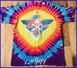 Vintage Grateful Dead Shirt XL Psychedelic Mouse Studios RARE Jerry Garcia 90s