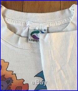 Vintage Grateful Dead Shirt XL Rise And Fall Tour Scarecrow 1993 Rare White