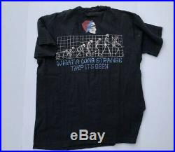 Vintage Grateful Dead T-Shirt Evolution 90s Liquid Blue Band Strange XL 1993