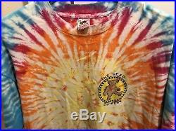Vintage Grateful Dead T Shirt Tie Dye Jerry Garcia Mens XL Dead Express RARE