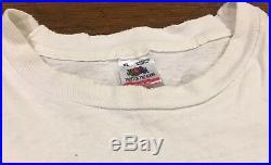 Vintage Grateful Dead T Shirt Truckin 1989 Mountain Sky Skeletons Distressed XL