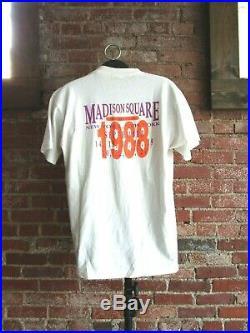Vintage Grateful Dead T-Shirt (XL) 1988 Madison Square Garden King Kong Band Tee