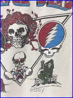 Vintage Grateful Dead T-shirt 1979 Raglan Mouse Kelley GDP Doo Dah