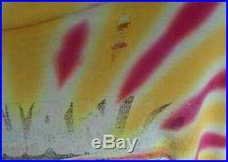 Vintage Grateful Dead Tie Dye 1992 T-shirt Lithuania Basketball Size Large or XL