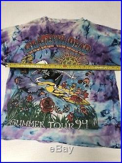 Vintage Grateful Dead Tour Shirt 1994