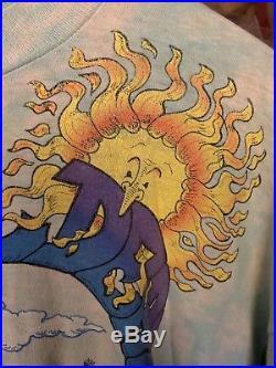 Vintage Grateful Dead Tour Shirt XL Spring Tour 92 Tie Dye HTF