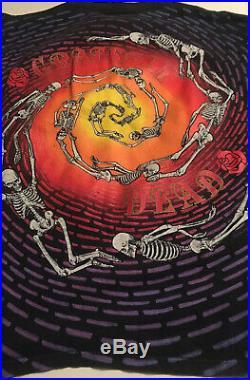 Vintage Grateful Dead Wild Oats Large T-Shirt Spiral Skeletons EX. CONDITION