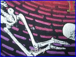 Vintage Grateful Dead Wild Oats XL Extra Large T-Shirt Spiral Skeletons