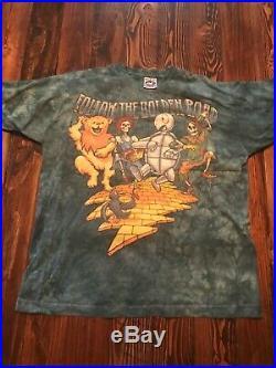 Vintage Grateful Dead and Jerry Garcia Shirts 1994 Tour Size XL