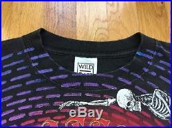 Vintage Grateful Dead shirt 90s grateful dead wild oats 1992 grateful dead bones