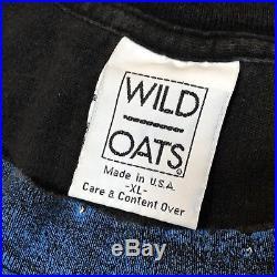 Vintage Grateful Dead t-shirt Golden Gate SF All Over Print XL Wild Oats