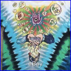Vintage Jerry Garcia Band Shirt Grateful Dead 1991 Psychedelic RARE Tie Dye JGB