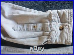 Vintage Jerry Garcia Grateful Dead Embroidered Denim Shirt XL 2 Sided Gd Merc