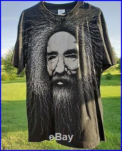 Vintage Jerry Garcia T Shirt Size XL 1993 Grateful Dead Band Tee