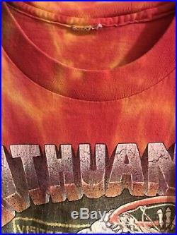 Vintage Lithuania Grateful Dead T Shirt 1992
