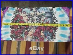 Vintage Rare 1995 Grateful Dead Tie Dye 30 Years Liquid Blue T Shirt L