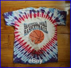 Vintage Rare Grateful Dead Basketball Shirt Size Large 90's Nike Jordan