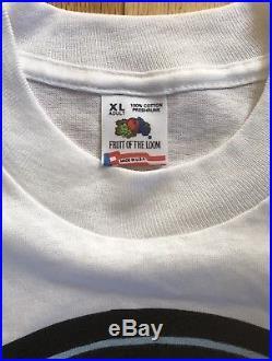 Vintage Rare Grateful Dead Uncle Jerry's Trip Wax Lot T-Shirt szXL single stitch