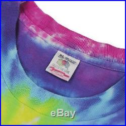 Vintage Rolling Stones 1994 Tie-Dye T-Shirt Rap Tee Grunge Grateful Dead