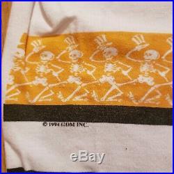 Vintage Shirt- Grateful Dead- GDM- Hockey Jersey- 1994- Liquid Blue Tag- Size XL