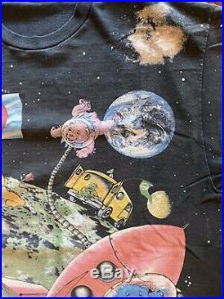 Vintage T-Shirt Grateful Dead Bears 2 Sides Graphics