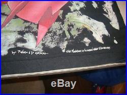 Vintage The Grateful Dead Walking On the Moon 1995 Tour T Shirt Sz L