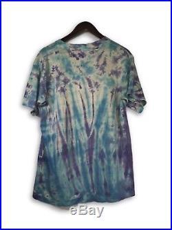 Vintage VTG 90s Grateful Dead Tie Dye Tour T-Shirt