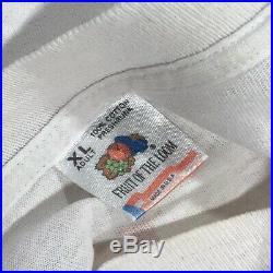 Vintage VTG Grateful Dead Bob & Jerry Show Ren & Stimpy 92 Tour Shirt Size XL