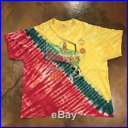 Vintage VTG Grateful Dead Lithuania Basketball Shirt Size XXL