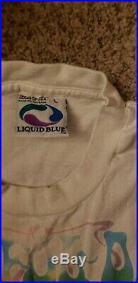 Vintage grateful dead shirt LRG Tie Dye Fall Tour 1995 Liquid Blue Vtg 90s